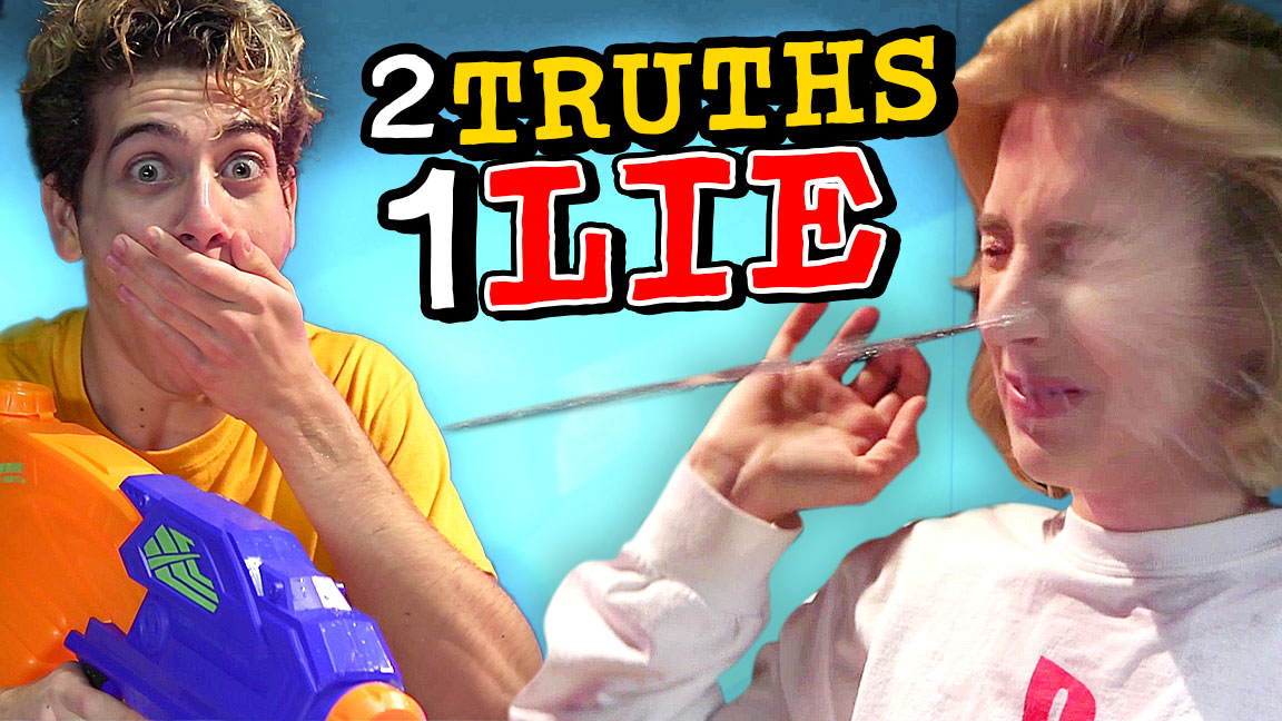 NOAH SOAKS COURTNEY - 2 TRUTHS 1 LIE WATER CHALLENGE