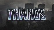 IF MARVEL CHARACTERS WERE REAL Thanos Title Card