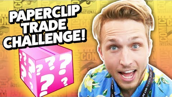 PAPERCLIP TRADE CHALLENGE AT COMIC-CON.png