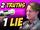 2 TRUTHS 1 LIE w/ GUS JOHNSON