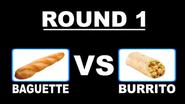 Food Battle 2009 Poll - Baguette vs. Burrito