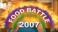 Food Battle 2007 title screen