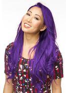 Mari purple hair