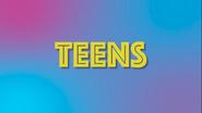 TEENS VS 20s Teens Card