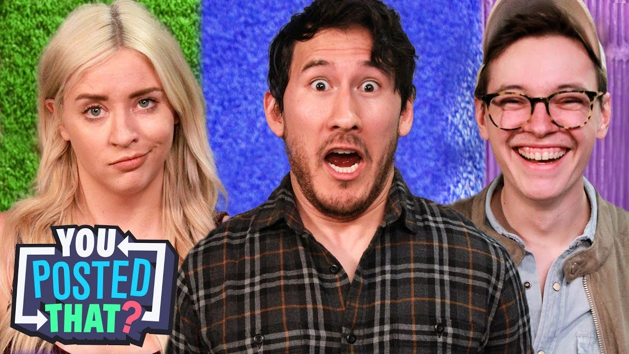 Markiplier, Steven Suptic, and Lily Marston - You Posted That?