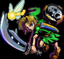 Link in Majora's Mask 3D