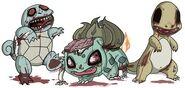 Zombie starter pokemon by jmirman