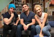 Shayne,Damien, and Courtney