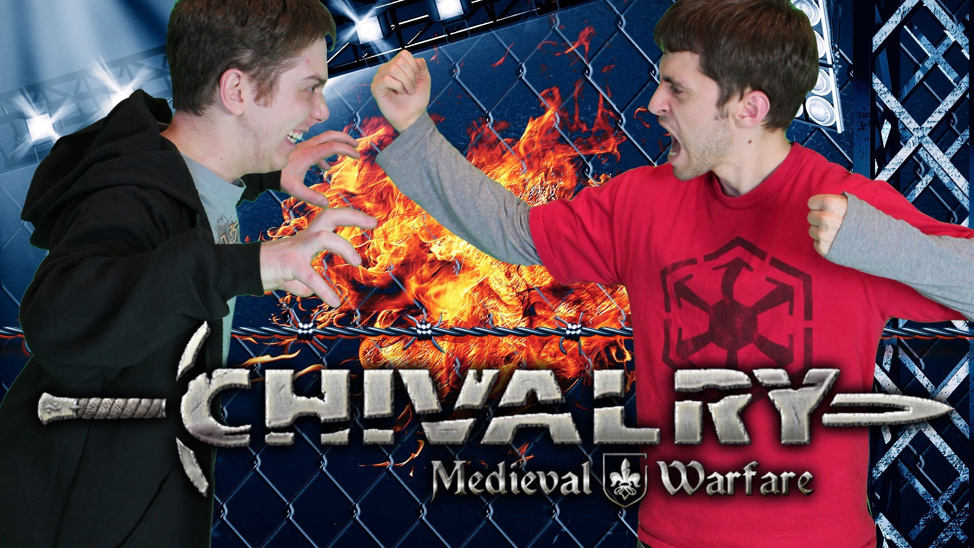 CHIVALRY & PAINTBALL PUNISHMENT (Cage Match)