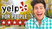 YELP FOR PEOPLE!