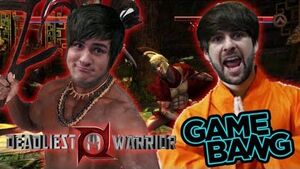 The video thumbnail featuring Smosh co-founders Anthony Padilla (left) and Ian Hecox