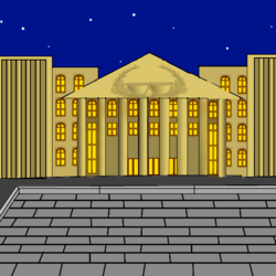 Площадь Дворца Чаепития