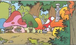 Smurf Village Comic Books.jpg