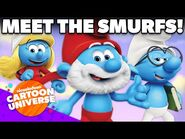 27 NEW Characters in The Smurfs! 🍄 - Nickelodeon Cartoon Universe