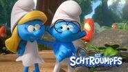 Smurfette and Brainy Smurf 2021 TV Series