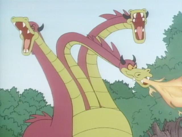 Three-Headed Hydra