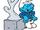 Sculptor Smurf
