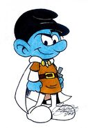 Johan the Smurf - Smurfs