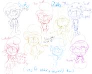 Some smurfy doodles(by random)