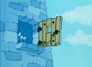 The Old Tower Window 3 - Smurfs