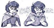 Johan's Contrast Expressions Pen Sketch