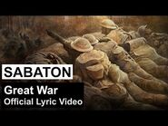 SABATON - Great War (Official Lyric Video)