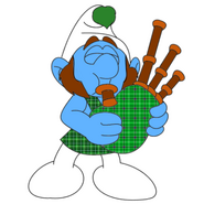Duncan With Bagpipes