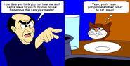Gargamel And Azrael Meme