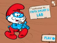 Papa Smurf's lab