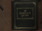 A Series of Unfortunate Events (commonplace book)