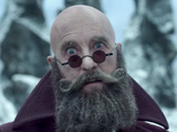 Man with a Beard but No Hair