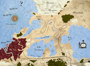 The True Land of Districts Map