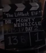The Littlest Elf clipboard