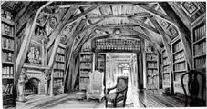 Jim Martin - Aunt Josephine's house (interior library)