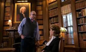 Barry Sonnenfeld and Joan Cusack