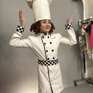 Chefcarmelia costume test 2