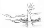 HandComingOutOfWater