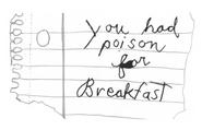 Poisonforbreakfastnote