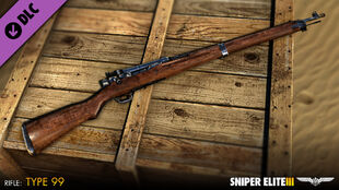 Type99 Sniper-Rifle in Sniper-Elite3