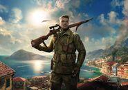 Sniper Elite 4 Italia artwork