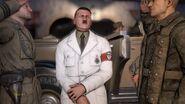 Hitler arriving in Tobruk