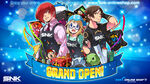 SNK OnlineShop Grand Open - Iori, Enta-Girl & Kyo