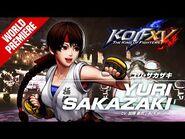 KOF XV|YURI SAKAZAKI|Character Trailer -9 (4K)-2
