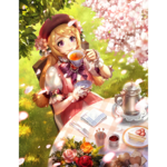 BattleCard All None Hanami TeaTime Big