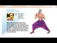 Fatal Fury - Duck King (Profile)