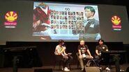 Japan Expo 2016 Présentation de KOF XIV interview Yasuyuki Oda 09 Juillet partie 1