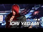 KOF XV IORI YAGAMI Character Trailer -4 (4K)【TEAM SACRED TREASURES】