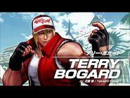 KOF XV TERRY BOGARD Character Trailer -10 (4K)