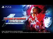 【ENG】KOF 2002 UM|PS4- Trailer (North America)
