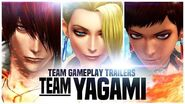 "KOF XIV - Team Gameplay Trailer 2 ""YAGAMI"""